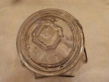 Vintage Candy Jar Embossed Patented Aug. 28 1900 Other Patents Pending