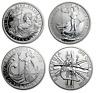 Silver BRITANNIA 1oz Coin UK Royal Mint Bullion coins in capsules 1997 to 2020