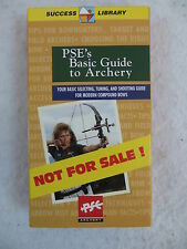 PSE'S BASIC GUIDE TO ARCHERY VHS TAPE Precision Shooting Equipment c1996