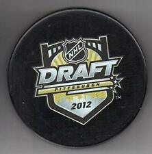 2012 NHL Entry Draft Pittsburgh Consol Energy Center Hockey Puck + FREE Cube