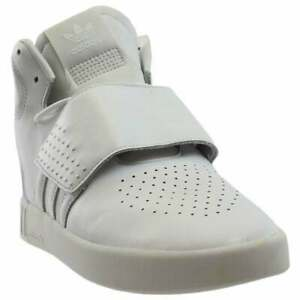 Adidas TUBULAR INVADER STRAP Sneakers White Men's - Size 11.5 M  NEW