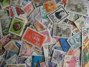 China & PRC Peoples Republic of China scrap pile (duplicates, mixed cond) of 125