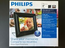 """Philips 8FF2FPB 8"""" Digital Picture Frame w/ 8GB SD card"""