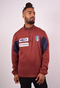 Puma Italia Sweatshirt Jumper Maroon Size Mens L ⚽️🇮🇹⚽️
