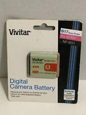 Vivitar Digital Camera Battery SONY NP-BG1 Easy Finder B17