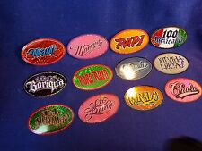 Vintage Vending Machine Stickers    LATINO OVALS  24 stickers, 2 of each design