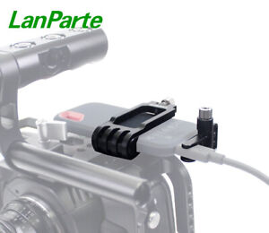 Lanparte SSD Clamp for San Disk E60 Samsung T5 with Cable Clamp Shoe 1/4 Mount