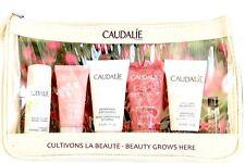 CAUDALIE Beauty Grows Here 6 PIECE TRAVEL KIT & MAKEUP BAG NEW FREE SAMEDAY SHIP