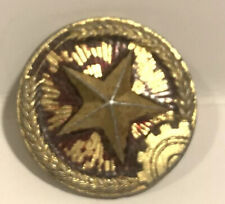chinese army uniform button Wwii