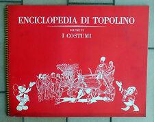 ENCICLOPEDIA DI TOPOLINO VOLUME VI I COSTUMI ALBUM FIGURINE - 4 + PUNTI CLUB