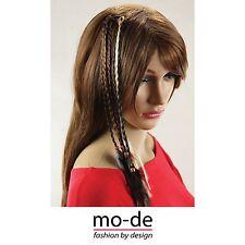 6X Women Ladies Feather Hair Extension Braid Wigs Clip Hair clip