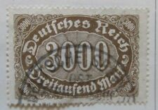 A6P45F233 Germany 1922-23 3000m used