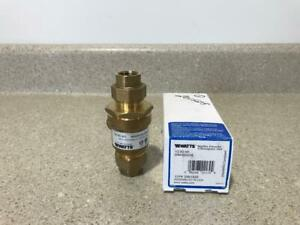 "Watts Backflow Preventer 1/2"" 9D-M3 NEW"