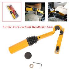 Car Gear Shift Lock head Anti-theft Brake Hand Brake Security Safety Steel W/key