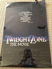 TWILIGHT ZONE THE MOVIE 1983 US One Sheet Original Movie Poster. Spielberg