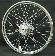 Chrome Ultima 40 Spoke 21 x 2.15 Front Wheel for Harley FXWG Dual Disc 1980-1999