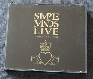 Simple Minds, live -  in the city of light, 2CD