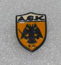 football soccer pin GREECE  A.E.K. Football Club ATHENS enamel  rare