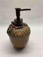 Acorn fall lotion Soap dispenser resin