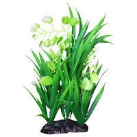 Künstliche Aquarium Pflanzen Wasserpflanzen Aquariumpflanzen Pflanze Blumen Deko