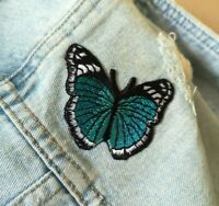 Butterfly Embroidered Iron On / Sew On Patch Jeans Jacket Bag Badge 3 per pack