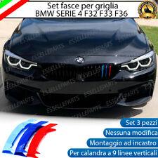 BMW SERIE 4 F32 F33 F36 COVER PER GRIGLIA 9 LINEE IN STILE BMW M SPORT CALANDRA