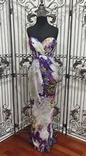 1732 LIZ FIELDS 3305 PURPLE SZ 2 $338 FORMAL PROM DRESS GOWN