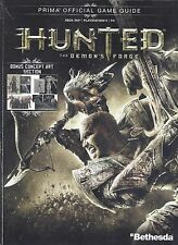 HUNTED Prima's Official Strategy Video Game Guide - Book