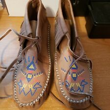 Endicott Johnson Leather Ladies Moccasins (Possibly New) Size 7B Vintage. Nice