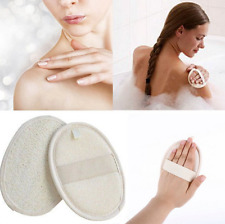 Natural Loofah Bath Shower Sponge Body Scrubber Exfoliator Washing Pad New F9