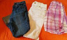 Girls Spring & Summer Capris Size 8 Arizona Jean, Gap Kids, Old Navy (Lot 3)