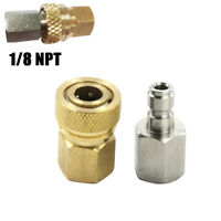 1/8NPT PCP 8mm Quick Release Disconnect Coupler Fitting Male&Female New Kit