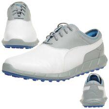 Puma Ignite Golf Spikless Herren Golfschuhe Golf Leder weiß 188679 07