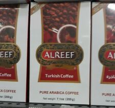 3 boxes ALREEF Turkish coffee , 200g/7.1oz each. قهوة تركية  F