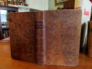 Farming Grazier Cattle Agriculture 1807 old leather book illustrated scarce
