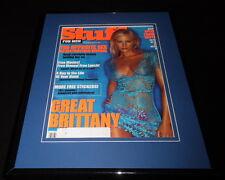 Brittany Daniel Framed 11x14 Original 2001 Stuff Magazine Cover Joe 00006000  Dirt