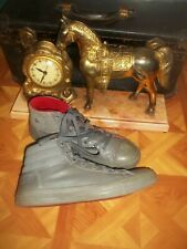 New listing Converse Chuck TAYLOR Sneakers Gray Leather High Top Basketball Shoes 10