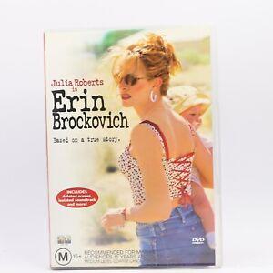 Erin Brockovich Julia Roberts (DVD, 2000) R4 Movie PAL Good Condition