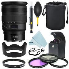 Nikon NIKKOR Z 24-70mm f/2.8 S Lens + Filter Kit + Accessory Kit