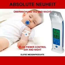 WIRELESS FIEBER THERMOMETER BLUETOOTH TAG+ NACHT INFRAROT FUNK OHR BABY KINDER