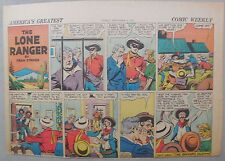 Lone Ranger Sunday Page by Fran Striker and Charles Flanders from 9/21/1941