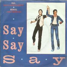 MICHAEL JACKSON PAUL MCCARTNEY 45 GIRI SAY SAY SAY/ODE TO A KOALA BEAR