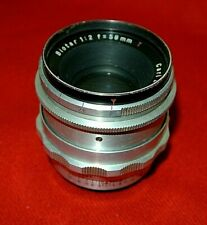 Carl Zeiss Jena Biotar 58mm F2  Lens(Exakta mount)