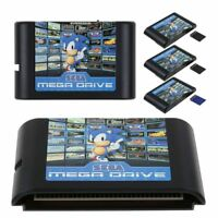 Sega Genesis Mega Drive Game Cartridge 16-Bit Multi Cart Cartridges Sonic Street