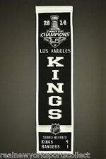 2014 LOS ANGELES KINGS STANLEY CUP CHAMPIONS HERITAGE BANNER QUICK KOPITAR RARE