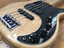 2016 Fender USA American Elite Precision P J Bass Bartolini Zeromod Elixirs
