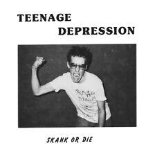 """TEENAGE DEPRESSION-Skank Or Die 7""""EP RE 1984 NJ Hardcore PUNK!"""