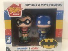 Funky Pop Batman And Robin Salt & Pepper Shakers  DC Legion Collector