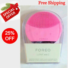 NEW Foreo Luna Mini 2 T-Sonic Facial Cleansing Device Pearl Pink