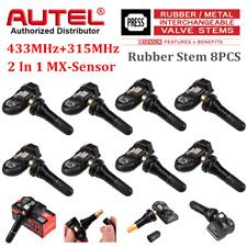 AUTEL MX-Sensor TPMS Sensor Tyre Pressure Sensors For Ford Fiesta 433+315MHz 8PC